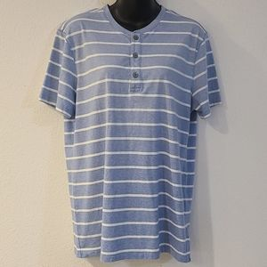 🎃 BANANA REPUBLIC Men's Striped T-shirt